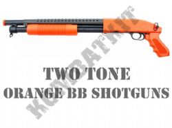 Orange BB Shotguns